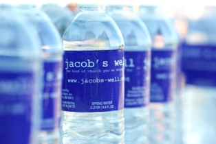 Jacob's Well water bottles