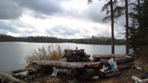 Insula Lake campsite